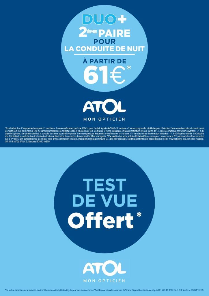 510e4e90c04eb3 Atol Les Opticiens - Opticien, 8 rue Cuvier 25200 Montbéliard - Adresse,  Horaire