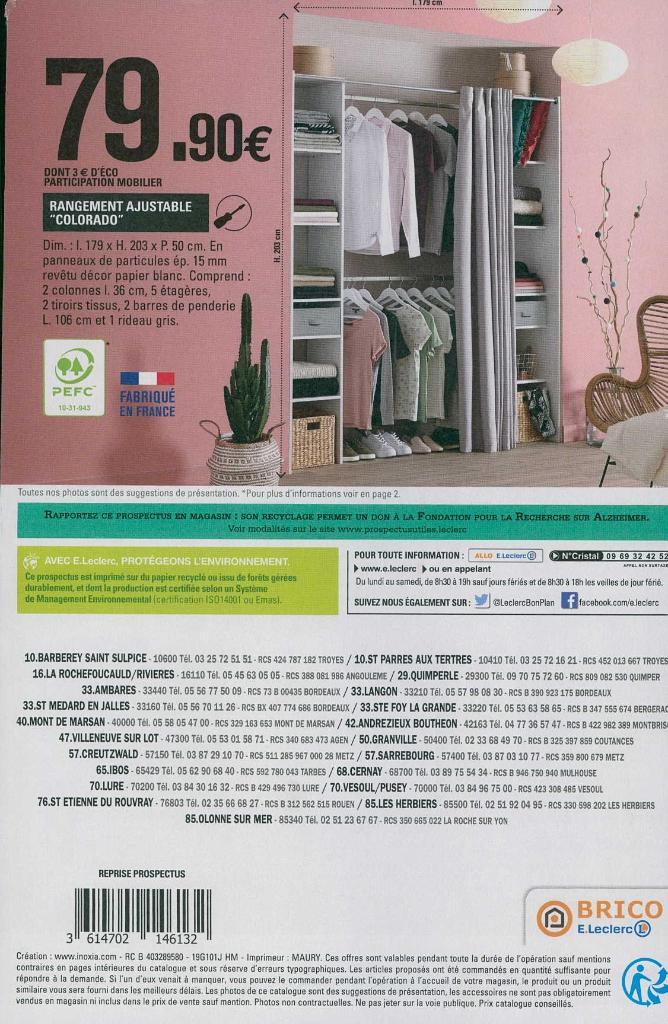 Brico Leclerc Sociga Bati Brico Jardin Commerce Independant