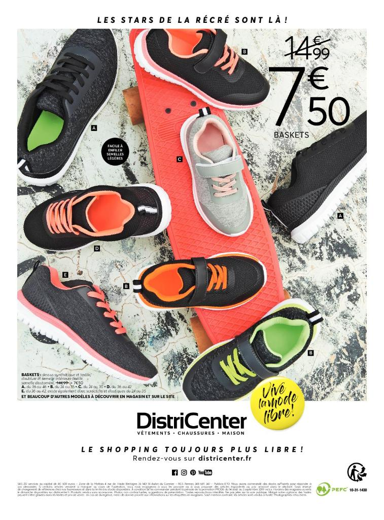 DistriCenter Chaussures, boulevard Aragon 64400 Oloron