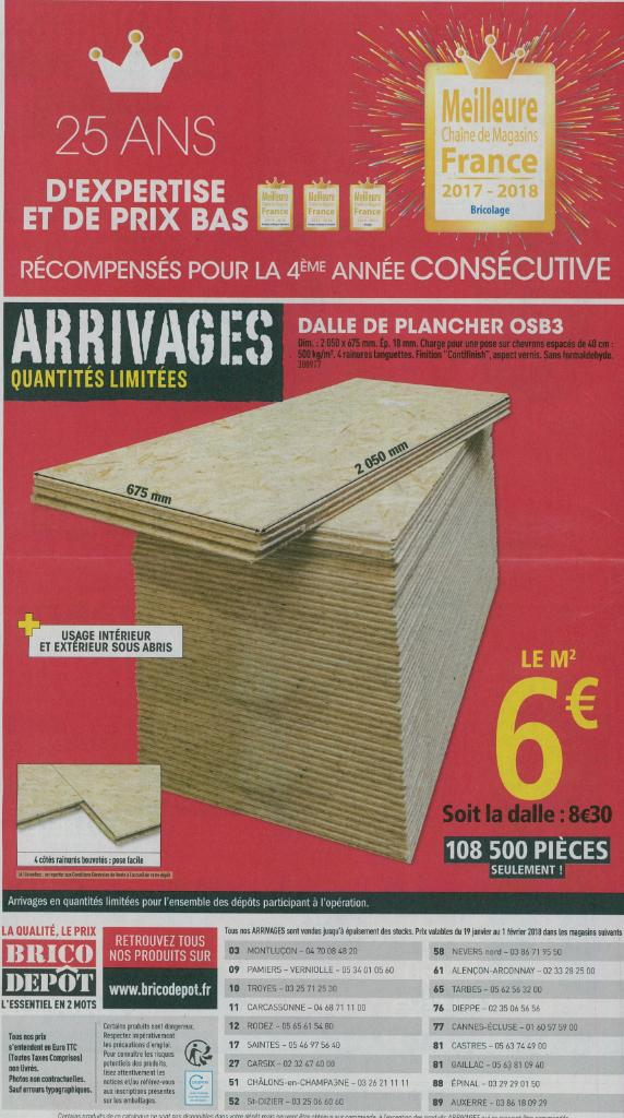 Stunning Perfect Brico Dpt Bricolage Et Outillage Route Nationale  Carcassonne Adresse Horaire With Brico Depot Carcassonne With Brico Depot  Plancher.