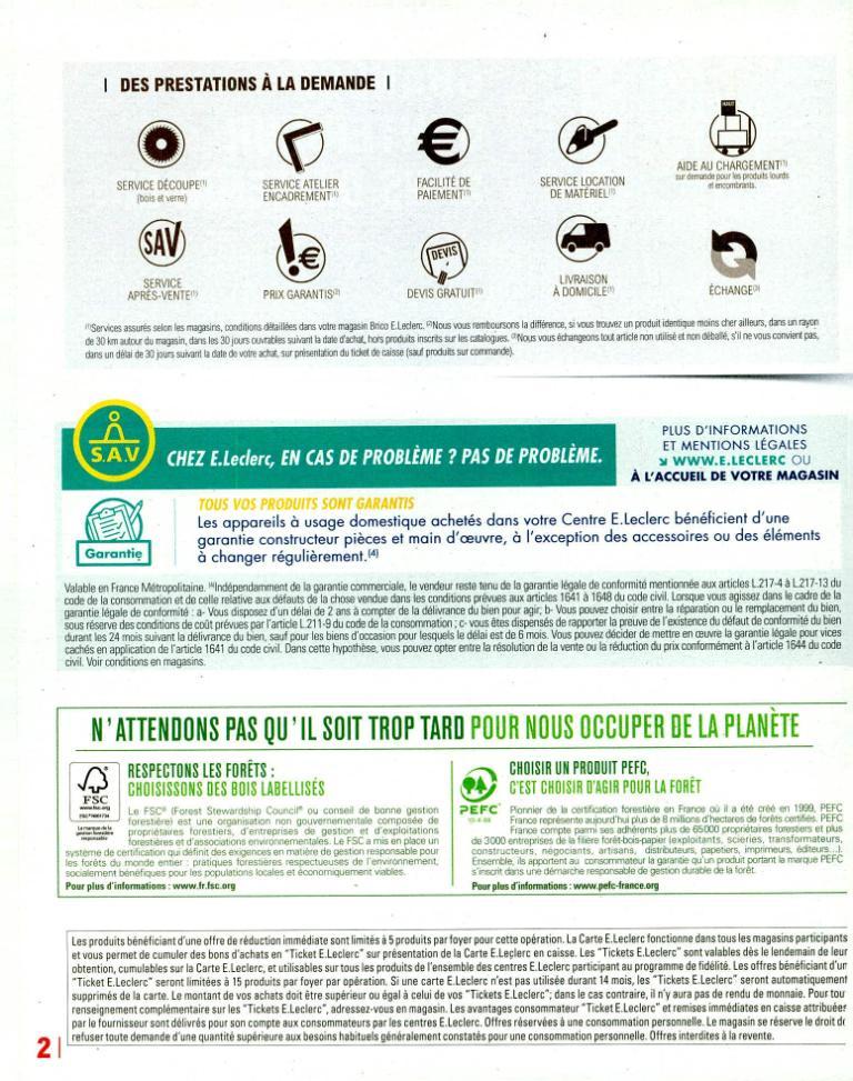 Bati Brico Jardi Leclerc Agribrico Bricolage Et Outillage
