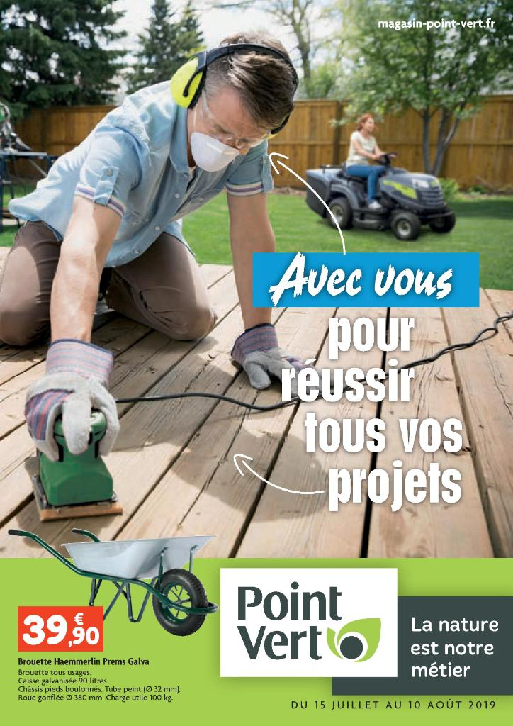 Point Vert - Jardinerie, route Toulouse 31330 Grenade - Adresse, Horaire