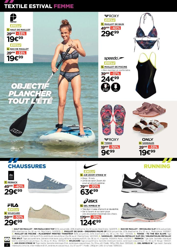 Go sport redon sports magasin de sport zone - Horaire piscine de redon ...
