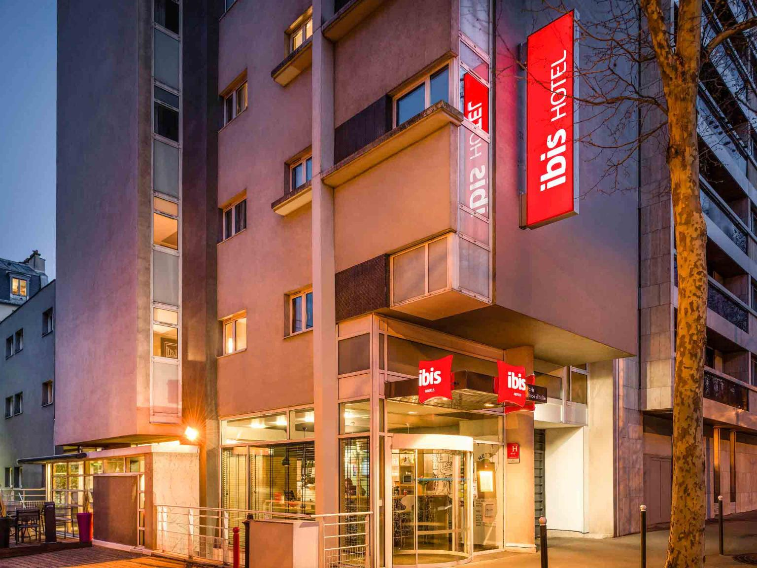 Ibis paris place d 39 italie 13 me h tel 25 avenue stephen pichon 75013 paris adresse horaire - Office du tourisme italien paris horaires ...