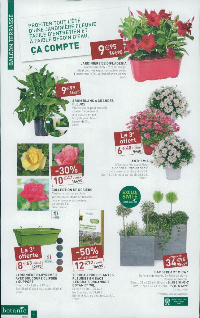 Botanic jardinerie rue des sayes 38080 l 39 isle d 39 abeau for Catalogue de jardinerie