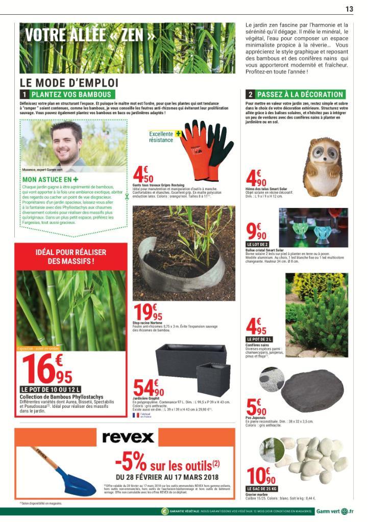 Gamm vert jardinerie rue des coquelicots 52300 for Catalogue jardinerie