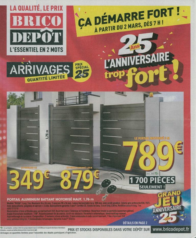Brico d p t bricolage et outillage 2 rue jacques de for Brico depot charleville horaire