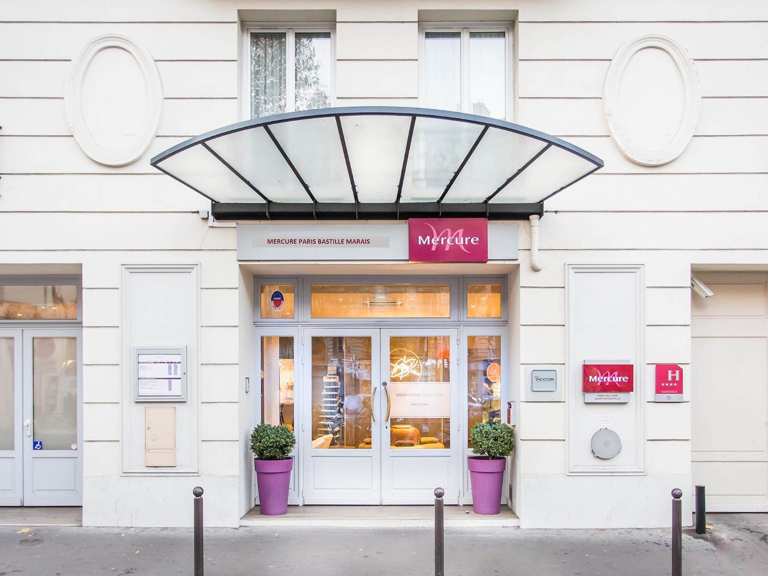 H tel mercure paris bastille marais h tel 53 rue for 4 rue richard lenoir 75011 paris france