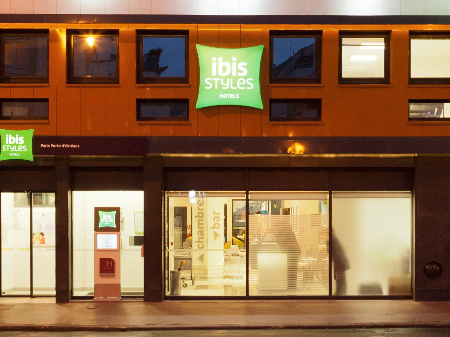 ibis styles paris porte d 39 orl ans h tel 41 avenue aristide briand 92120 montrouge adresse. Black Bedroom Furniture Sets. Home Design Ideas
