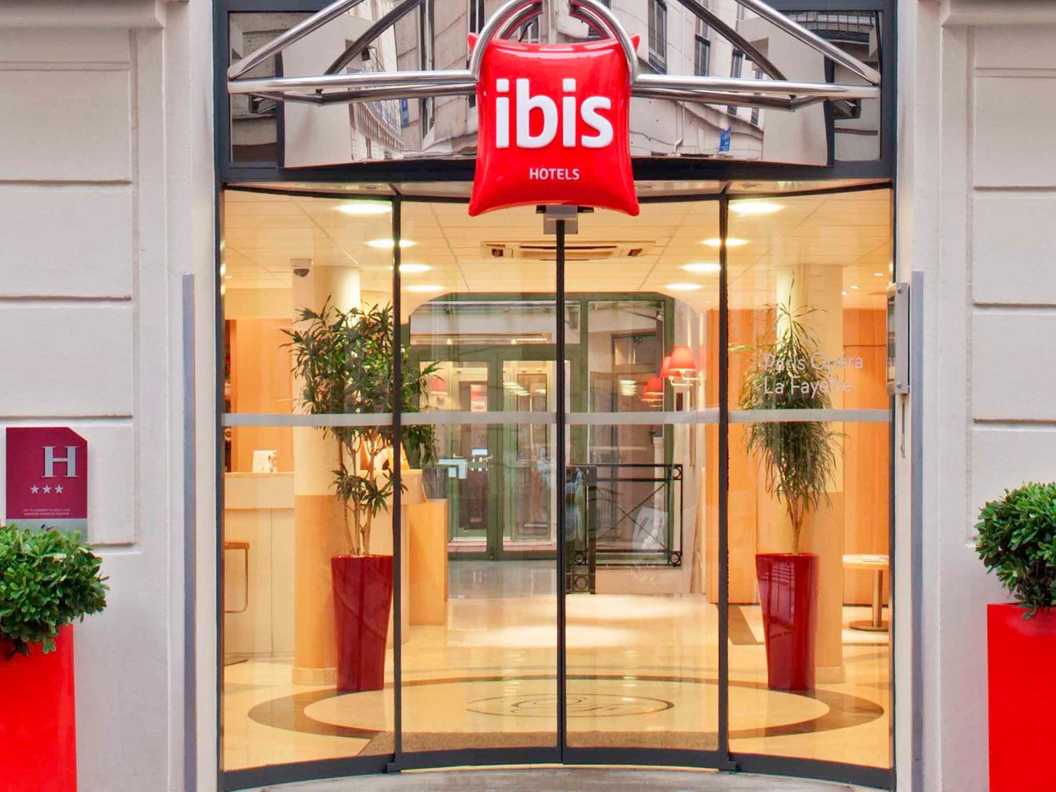 Ibis Paris Op U00e9ra La Fayette
