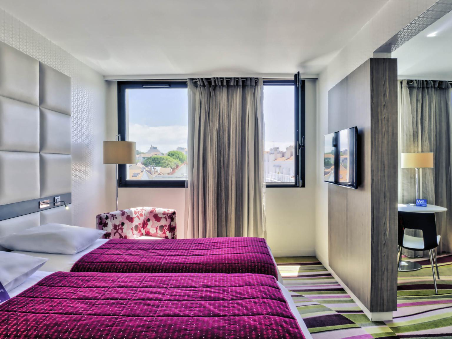 H tel mercure le pr sident biarritz centre h tel 18 - Hotel de la plage biarritz 3 esplanade du port vieux ...