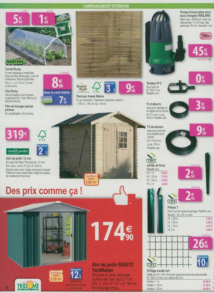 Tridome jardinerie jardinerie rue des fr res dev s for Catalogue jardinerie