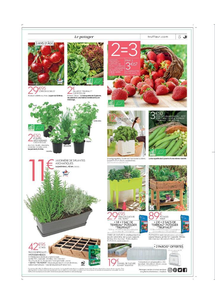 Jardinerie truffaut blois fleuriste 410 rue des for Catalogue de jardinerie