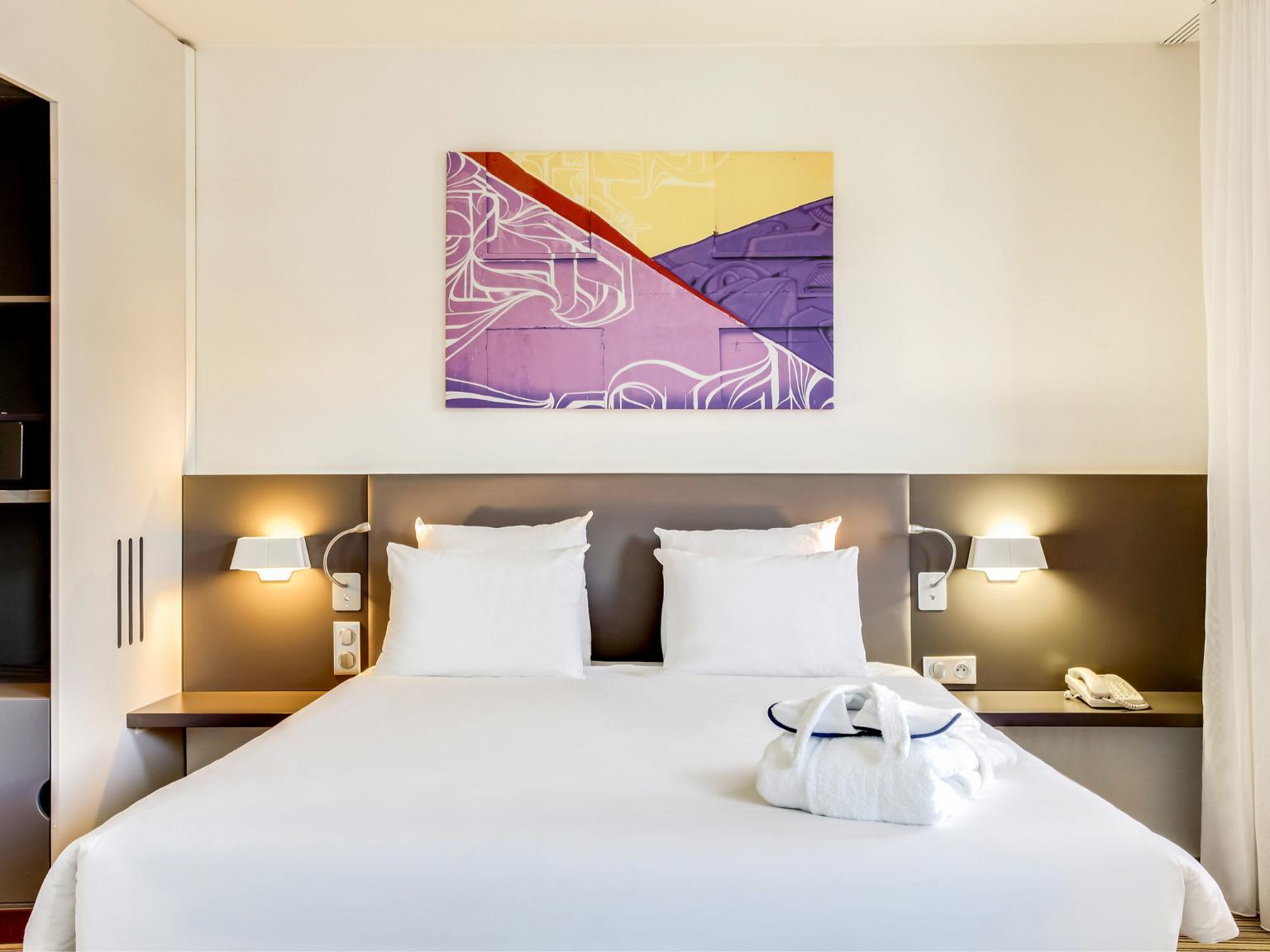 Novotel suites paris stade de france h tel 31 avenue for Avenue jules dujardin 5