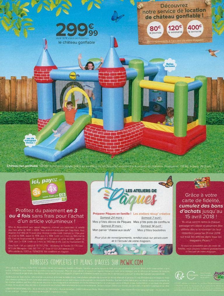 Picwic jouets et jeux rue versailles 59491 villeneuve d 39 ascq adresse horaire - Top office villeneuve d ascq horaires ...