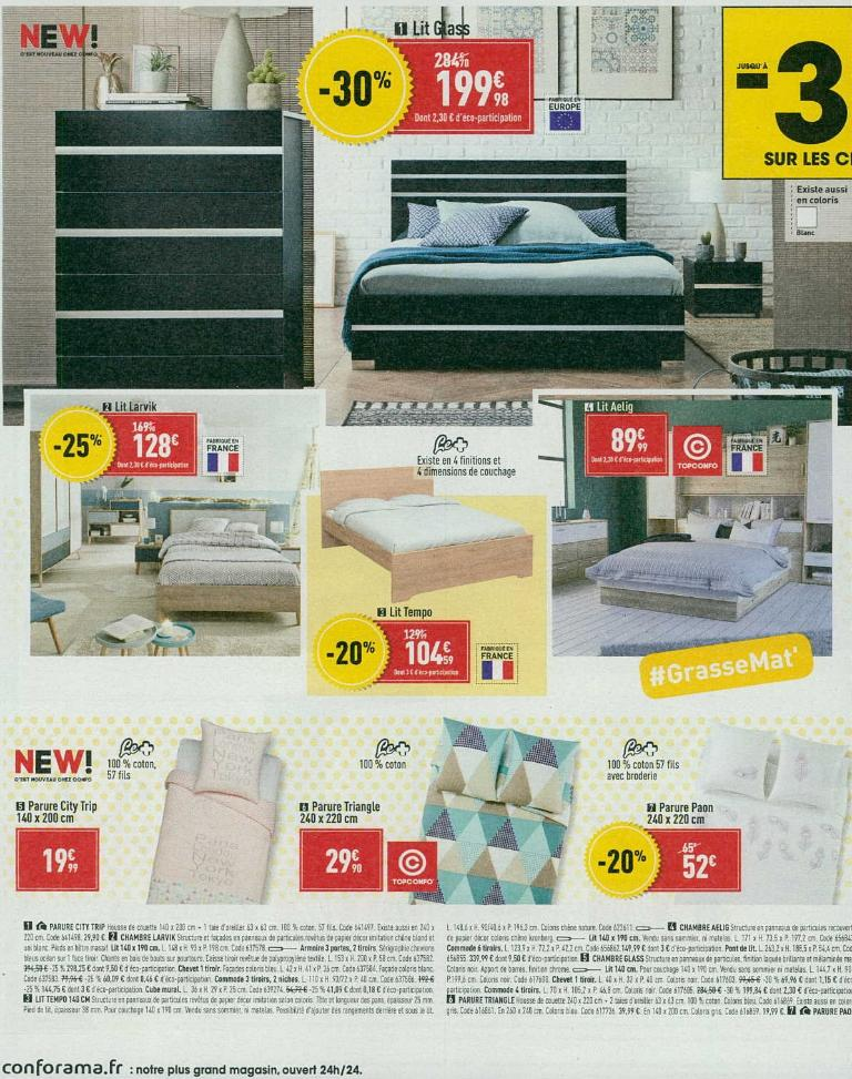 conforama magasin de meubles avenue edmond michelet. Black Bedroom Furniture Sets. Home Design Ideas