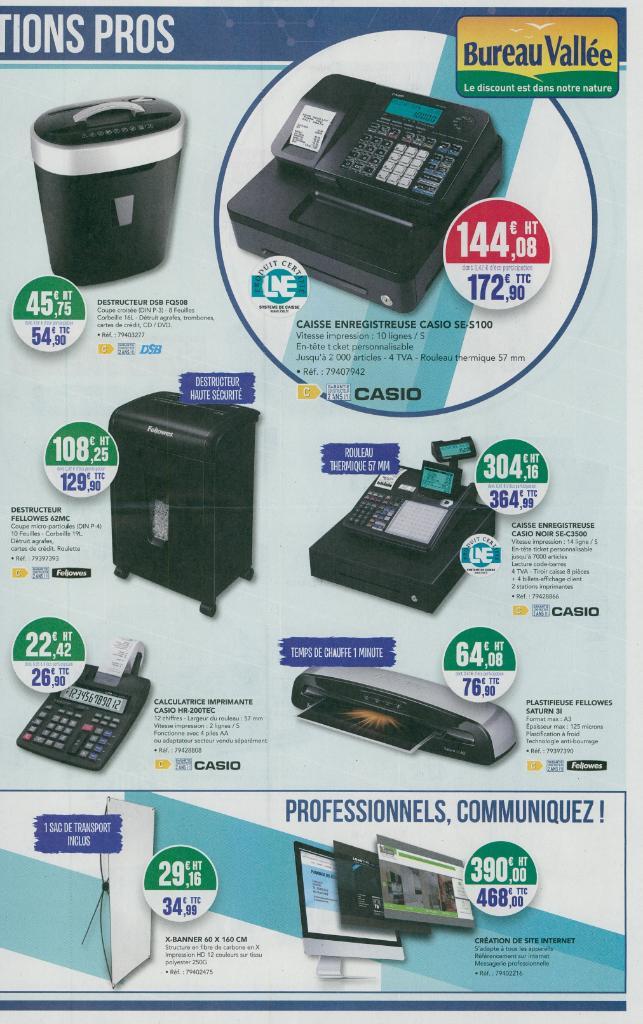 Bureau vall e vente de mat riel et consommables informatiques 65 avenue marceau 92400 - Bureau vallee courbevoie ...
