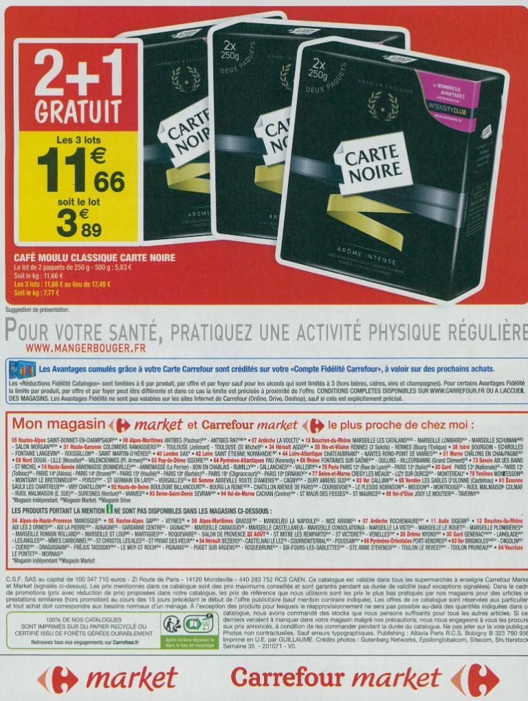 Carrefour market supermarch hypermarch 67 avenue - Horaire carrefour chartres ...