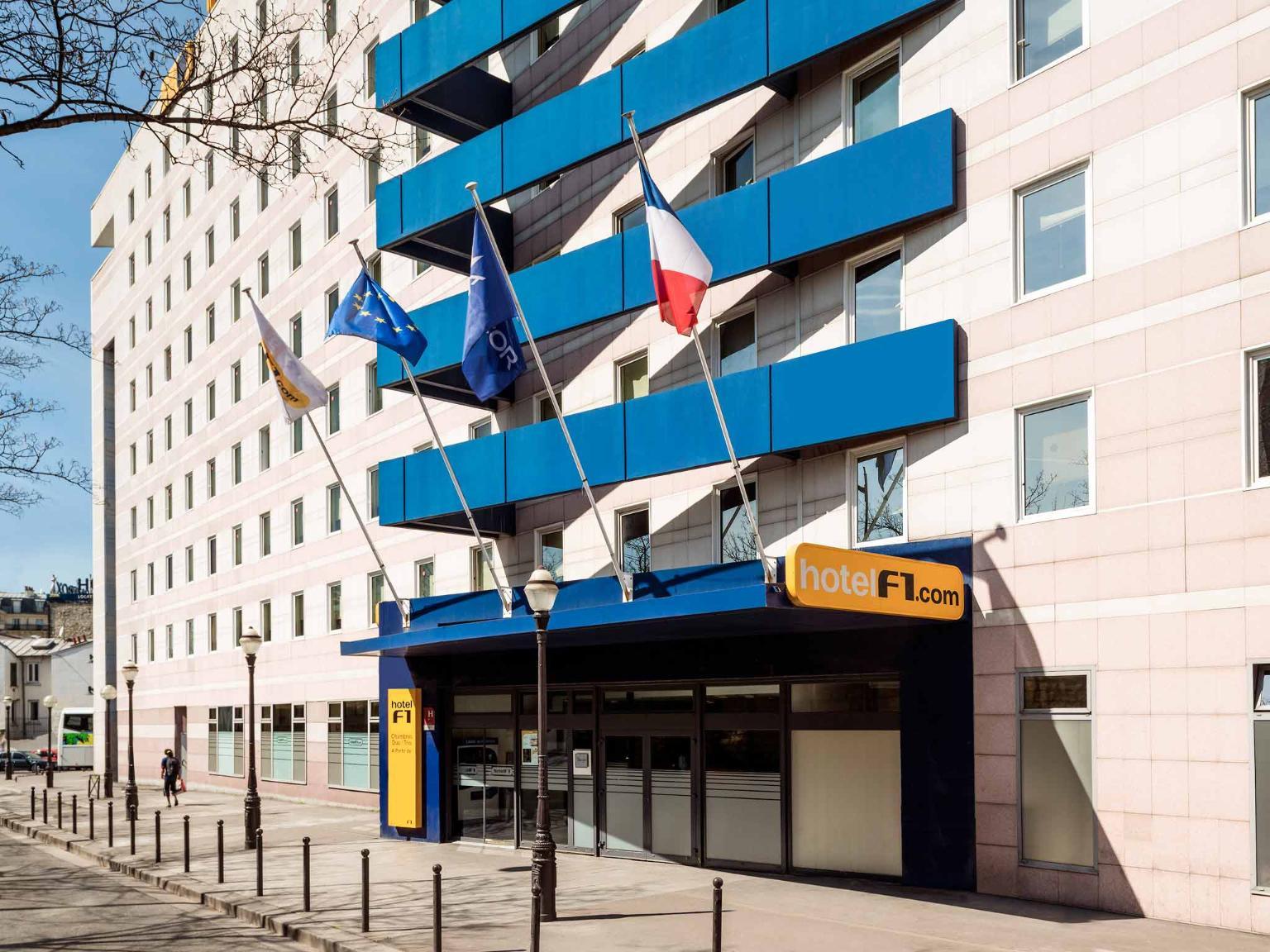 Hotelf1 paris saint ouen march au puces h tel 29 rue du docteur babinski 75018 paris - Ibis porte de clignancourt ...