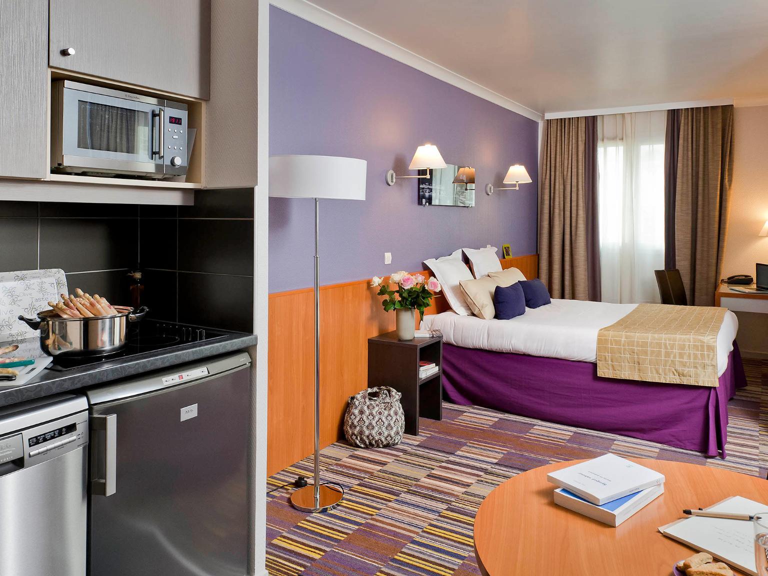 Aparthotel Adagio La D U00e9fense Le Parc