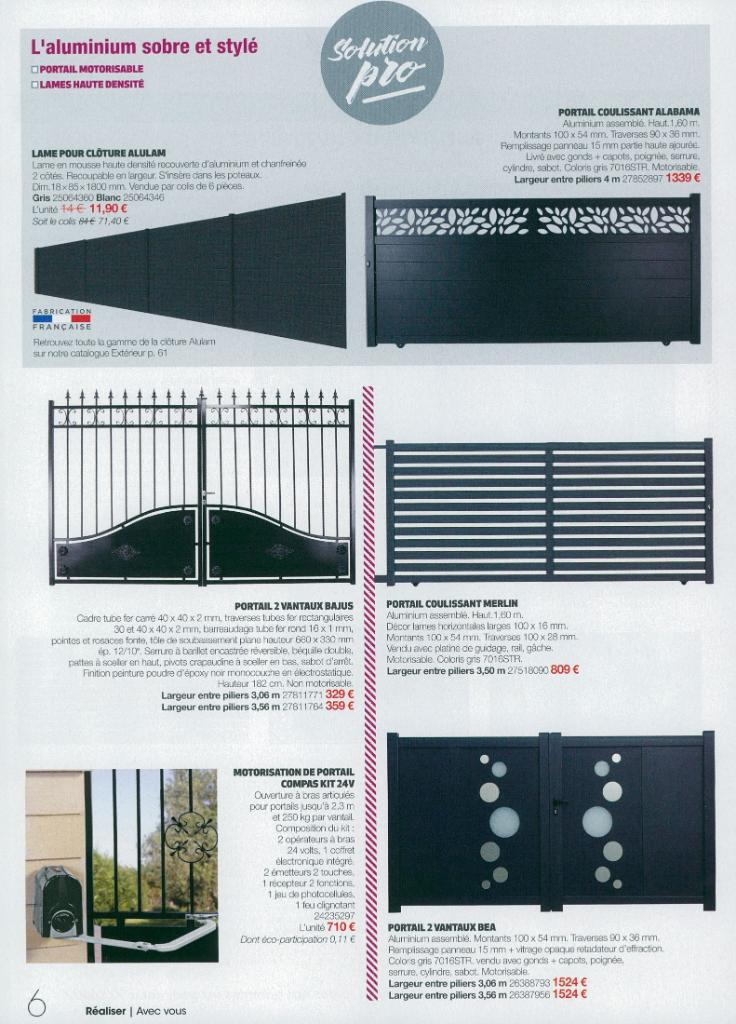 Awesome Gedimat Catalogue Menuiserie With Pilier Portail Gedimat