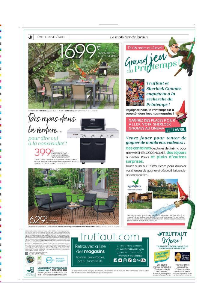 Jardinerie truffaut blois fleuriste 410 rue des for Catalogue jardinerie