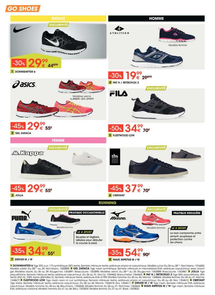 Go sport marne la vallee magasin de sport 14 cours du - Marne la vallee magasin ...