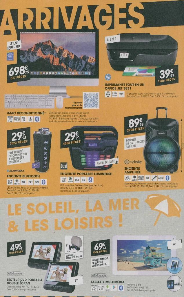 Electro d p t lectrom nager rue henri becquerel 60000 beauvais adresse horaire - Electro depot beauvais ...