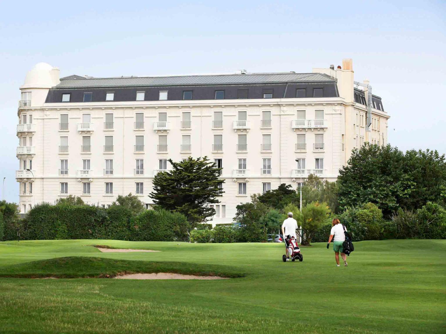 Regina Biarritz Hotel Et Spa