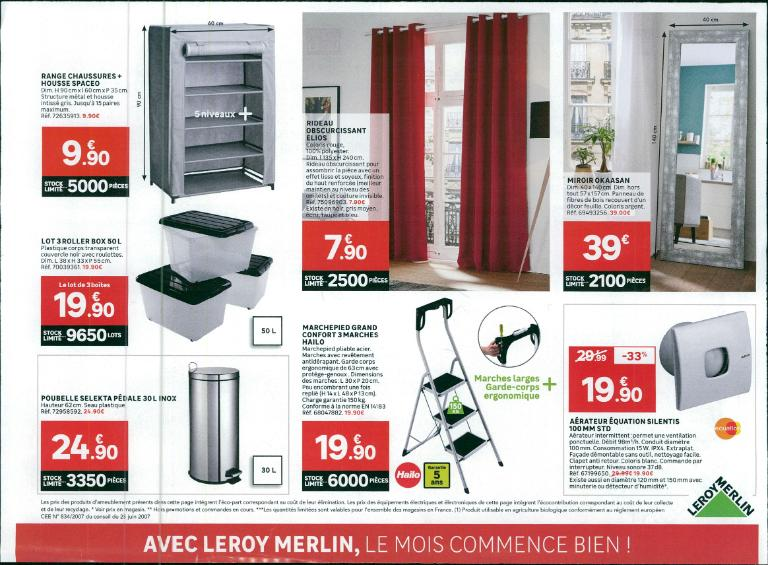 leroy merlin bricolage et outillage 52 boulevard victor. Black Bedroom Furniture Sets. Home Design Ideas