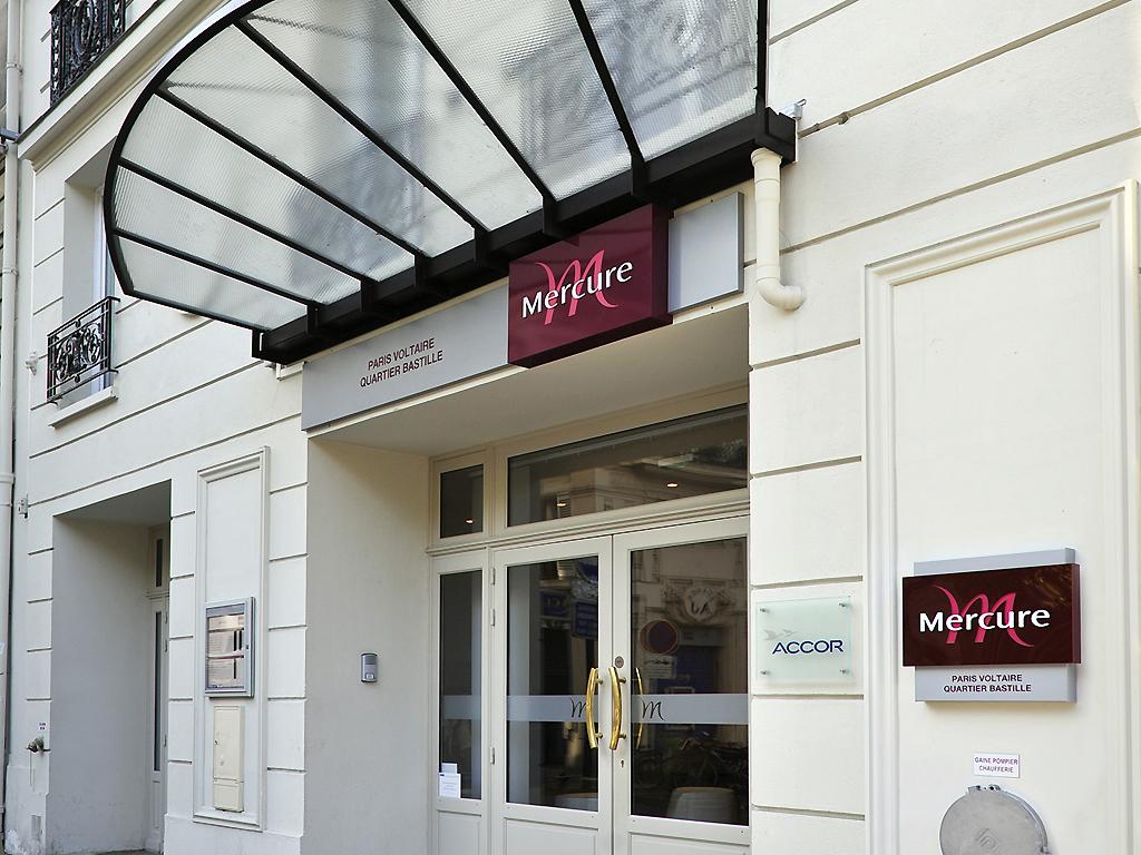 H tel mercure paris voltaire quartier bastille h tel 53 for 4 rue richard lenoir 75011 paris france