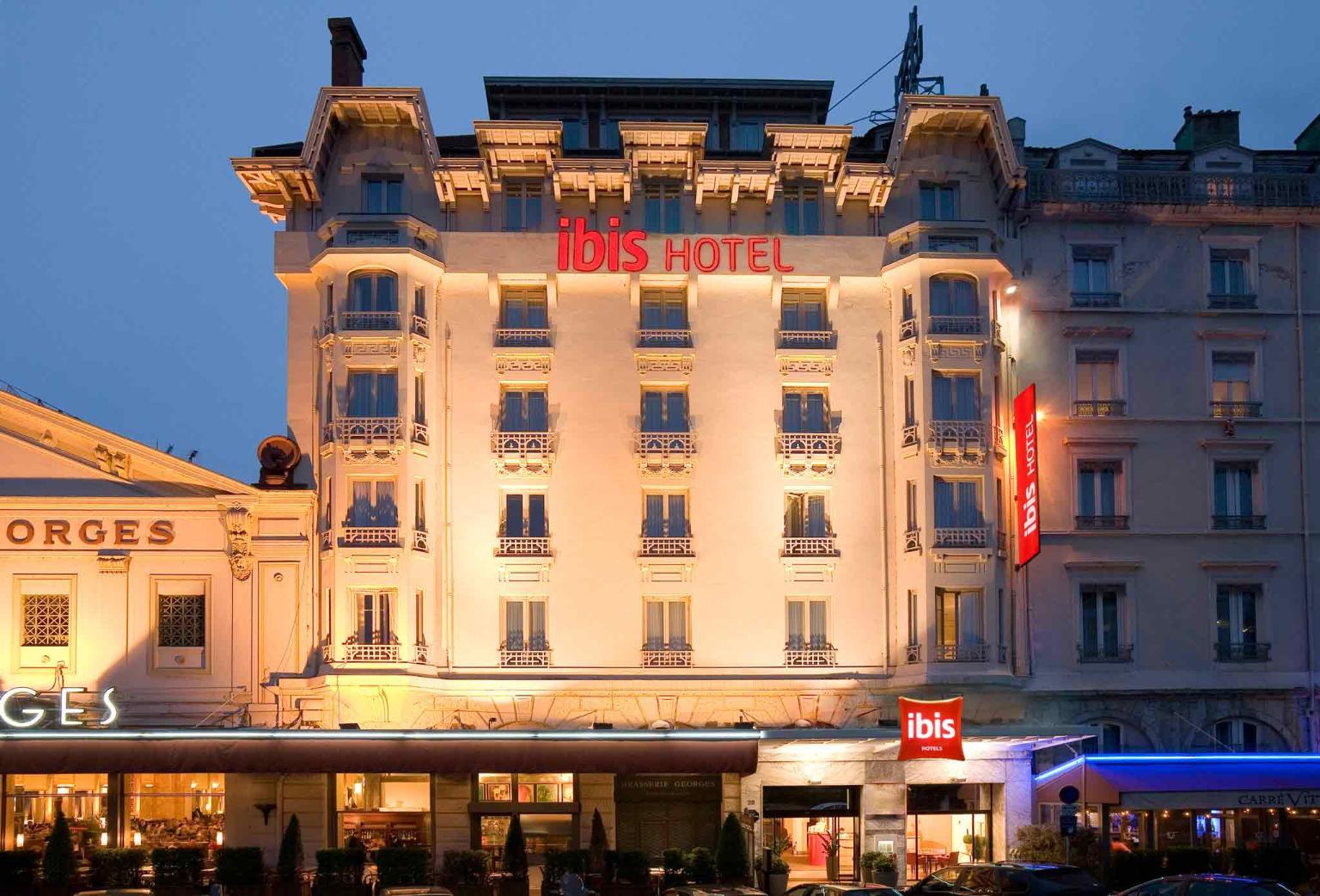 Ibis lyon centre perrache h tel 28 cours de verdun for Hotels 69002 lyon