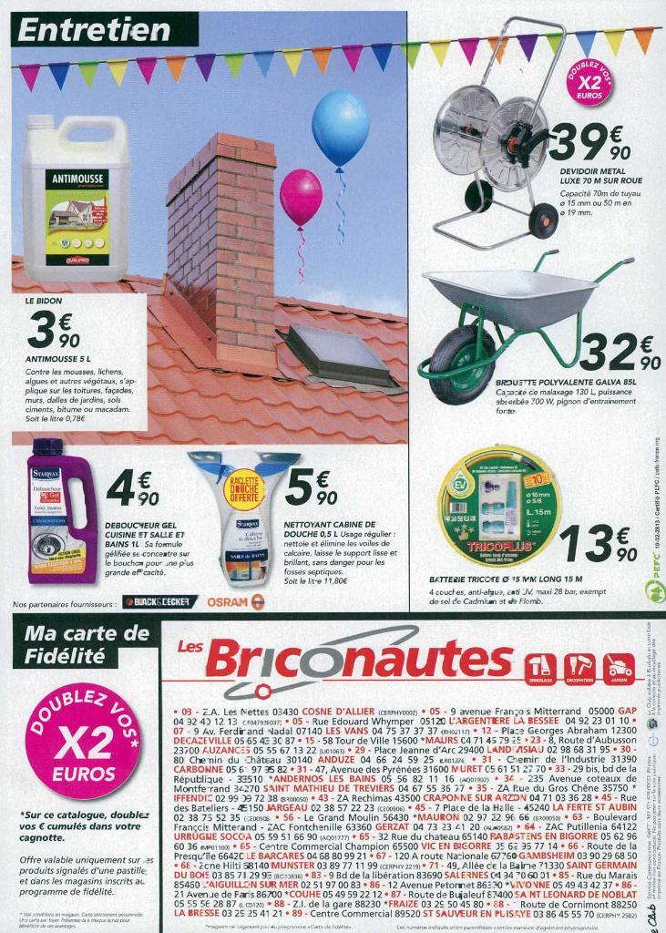 Briconautes crozet bricolage et outillage zone des for Ads briconautes