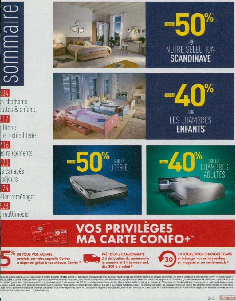 conforama chatellerault magasin de meubles la d sir e. Black Bedroom Furniture Sets. Home Design Ideas
