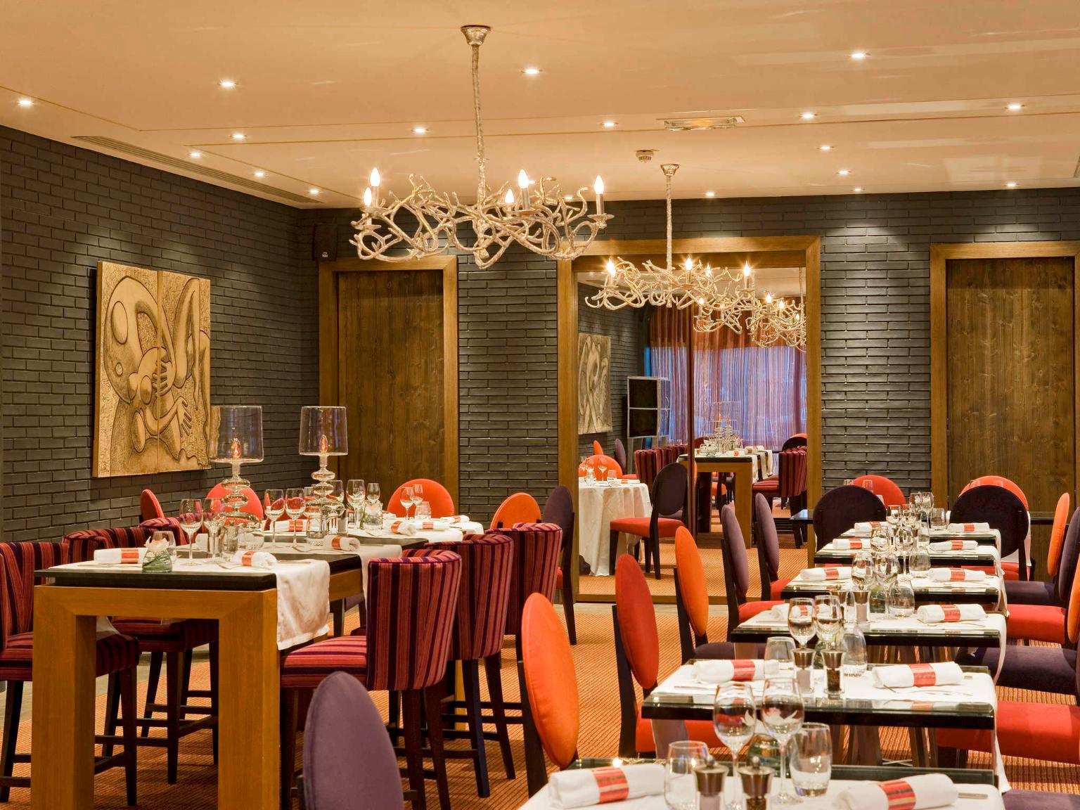 Carte Restaurant Pullman Toulouse Airport