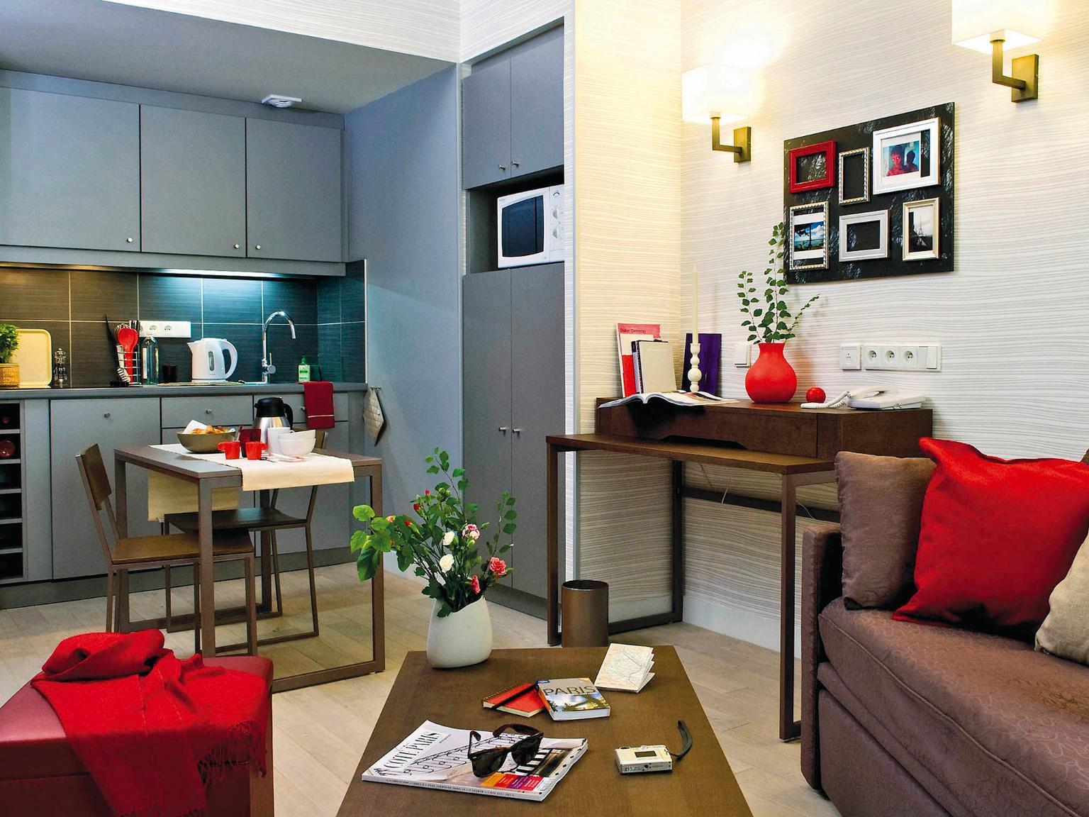 Aparthotel adagio paris op ra h tel 43 rue caumartin - Hotel paris chambre 4 personnes ...