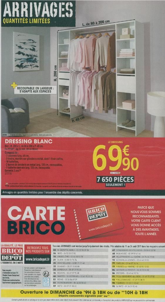 Brico depot horaires catalogue brico dpt au juillet with brico depot horaires wonderful brico - Horaire brico depot beauvais ...