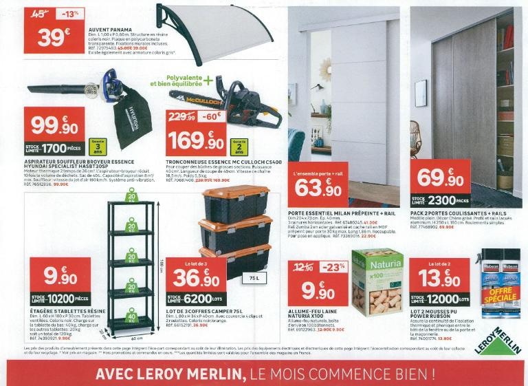 Leroy merlin bricolage et outillage 276 avenue grand sud 37170 chambray l s tours adresse - Leroy merlin chambray ...
